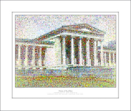 2008 Albright Knox Mosaic