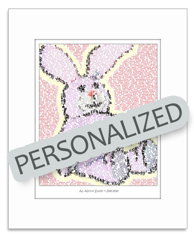 Personalized Text Mosaic