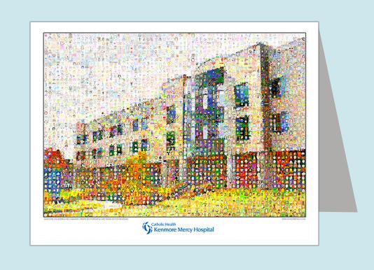 Kenmore Mercy Hospital Note Cards